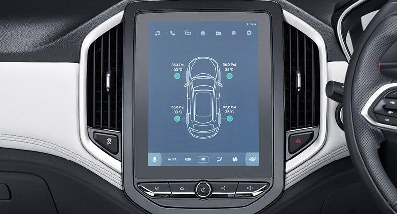 TPMS (Tire Pressure Monitoring System) *Exclusive Type