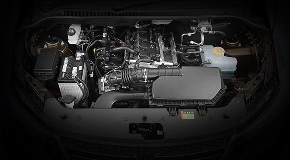 Engine 1.5 L , with DVVT (Dual Variable Valve Timing), DOHC, MPI 1