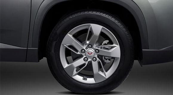 """17"""" Alloy Wheel (Smart Enjoy Type)"""