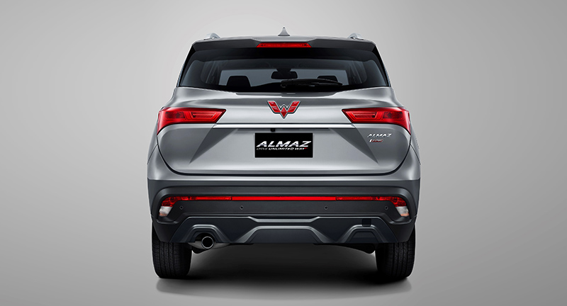 New Rear Bumpr Design ( 7- Seat Model )